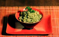 rectte du risotto à la spiruline