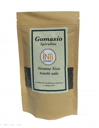 Gomasio noir spiruline bio