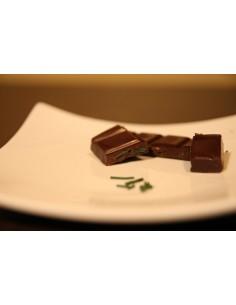 Chocolat noir bio aux éclats de Spiruline