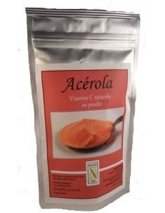 Acérola poudre sachet de 100 g